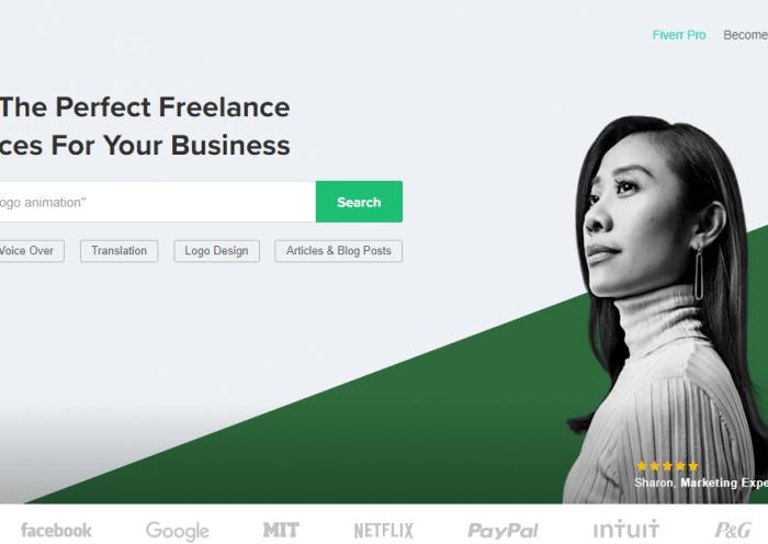 Fiverr Freelancing Marketplace